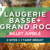 DUAL TICKET GRAND ROC CAVE / LAUGERIE BASSE SHELTERS